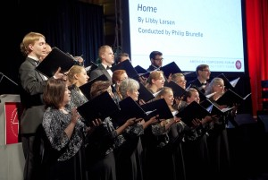 Fund - American Composers Forum Vocal Essence performing at ACF40 (photo by Jim Nihart)
